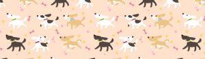 バナー 背景 犬2