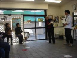 DLP梶ヶ谷校しつけ教室開催風景